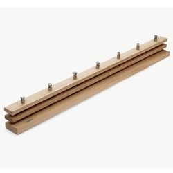 Perchero de Pared Cutter 100 Roble