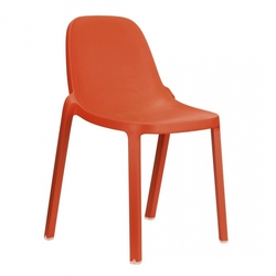 Silla Apilable Broom Naranja