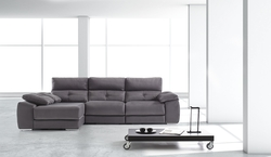 Sofa con chaise loungue