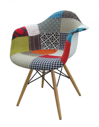 Pack de 2 sillones Tower patchwork