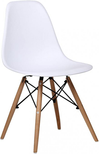 Pack de 2 sillas , color blanco Eames